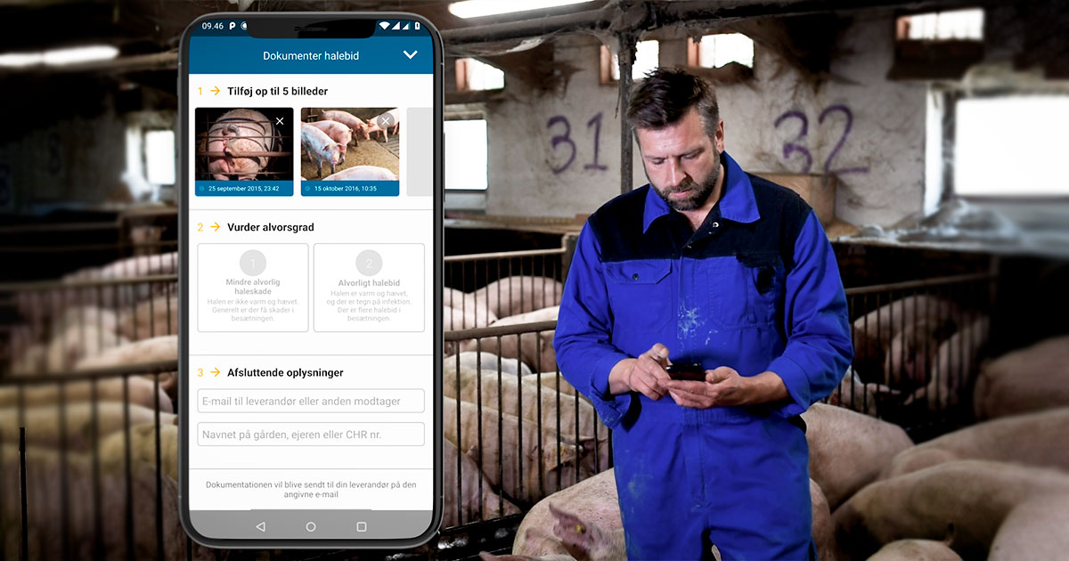 Opfyld EU krav med ny app – Porcus app
